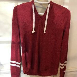 Hollister light stretch sweatshirt with hood